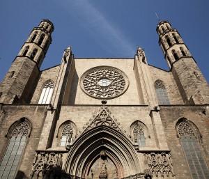 Basílica Santa Maria del Mar fotography, by Paul M.R. Maeyaert