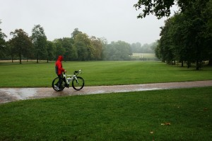 bicicleta lluvia