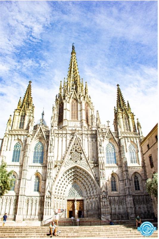 imagen de la catedral de Barcelona