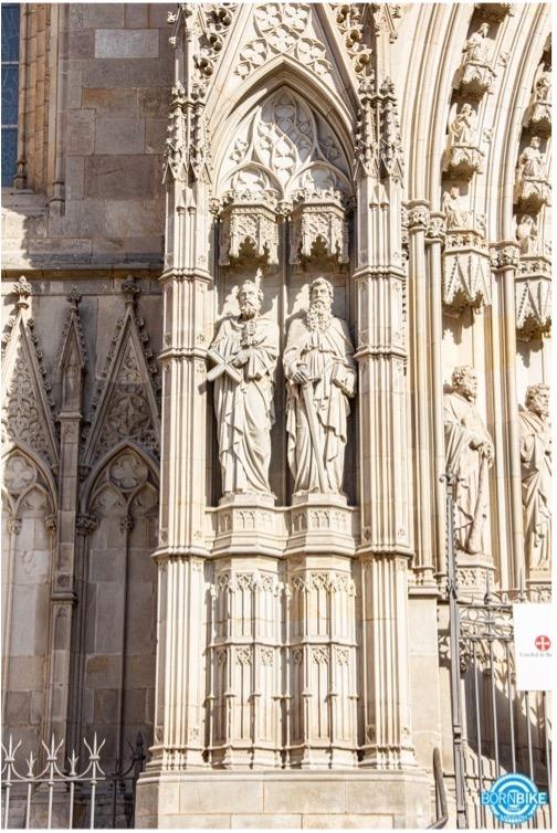 image de la cathédrale de Barcelone
