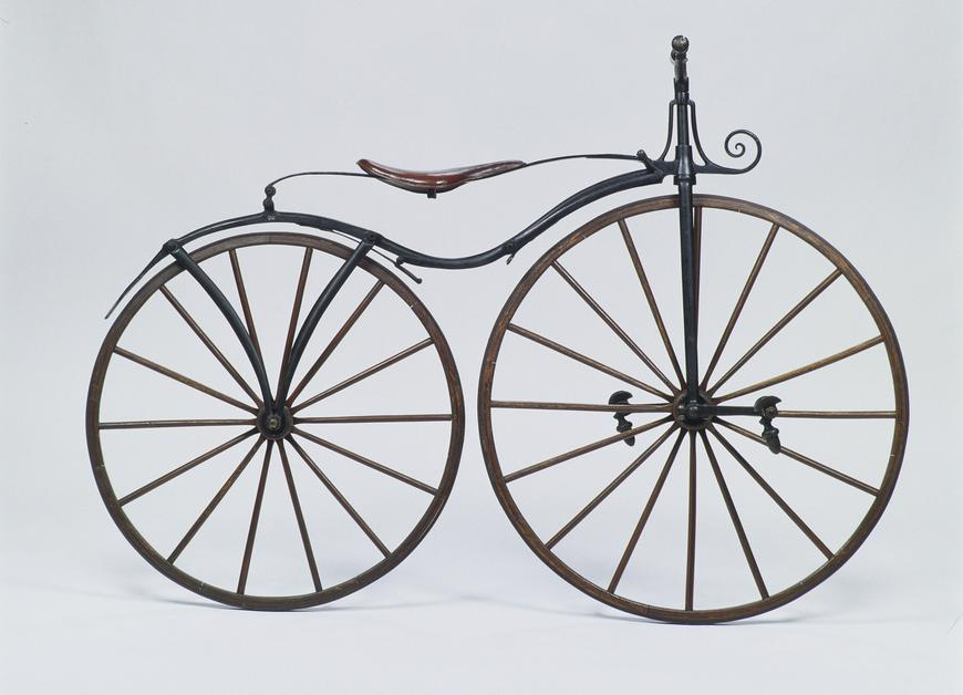 first pedal velocipede created by Pierre Michaux in the 1860's decade