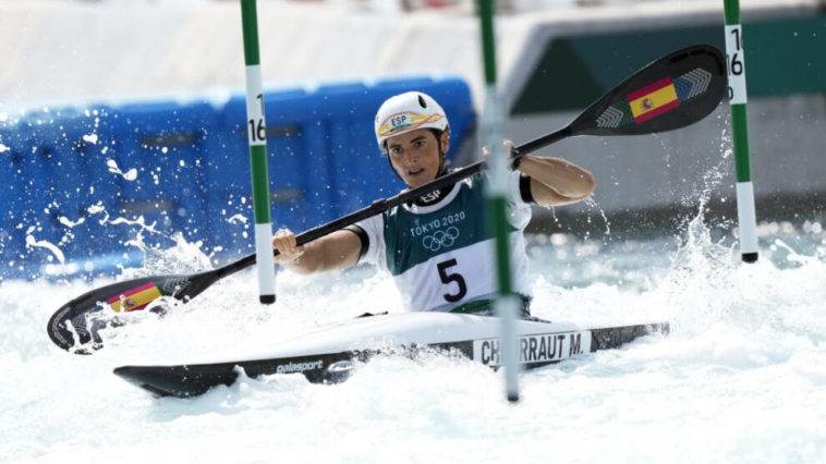 Mailalen Chourraut at the Tokyo 2020 Olympic Games