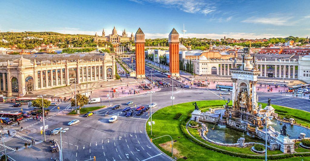 Plaça Espanya de Barcelona
