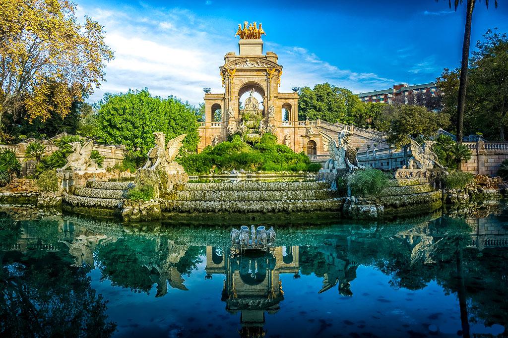 Park de la Cituadella de Barcelona
