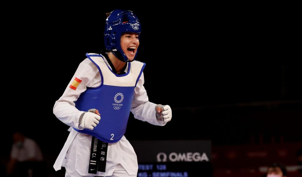Adriana Cerezo Iglesias aux Jeux Olympiques de Tokyo 2020