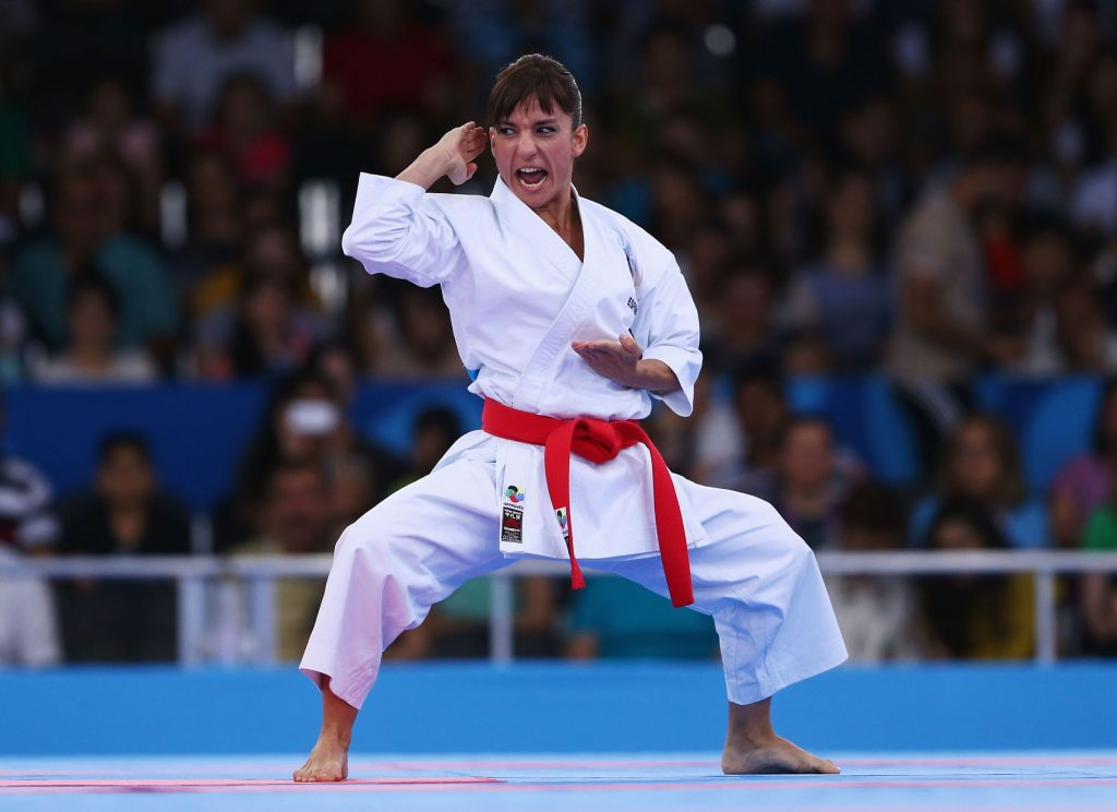 Sandra Sanchez at the Olympic Games in Tokyo 2021