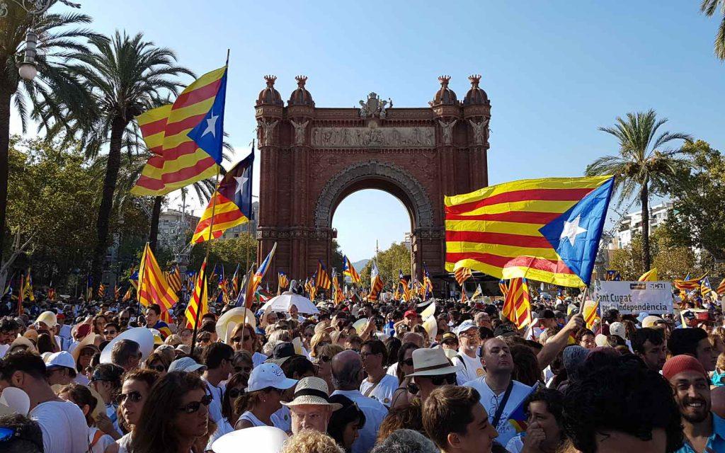 Fête nationale de la Catalogne le 11 septembre