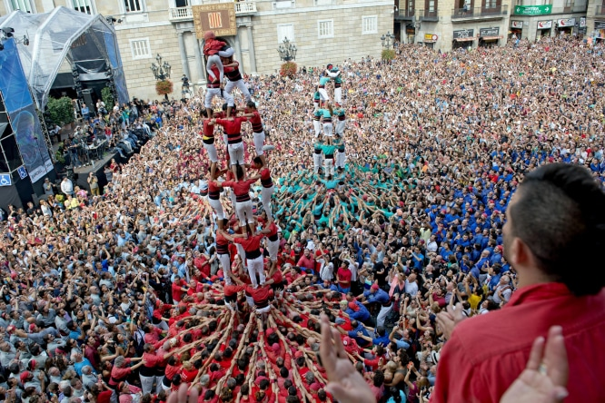 shows in barcelona during in the Mercè