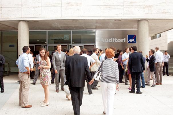 Auditorium Axa Barcelona congresse deporte professional turismo