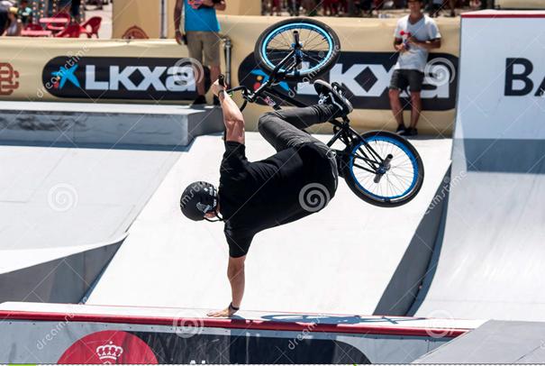 bmx sport competition extreme barcelona